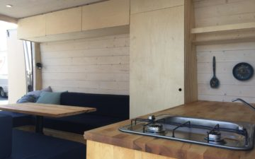 VW Crafter Cabin Two