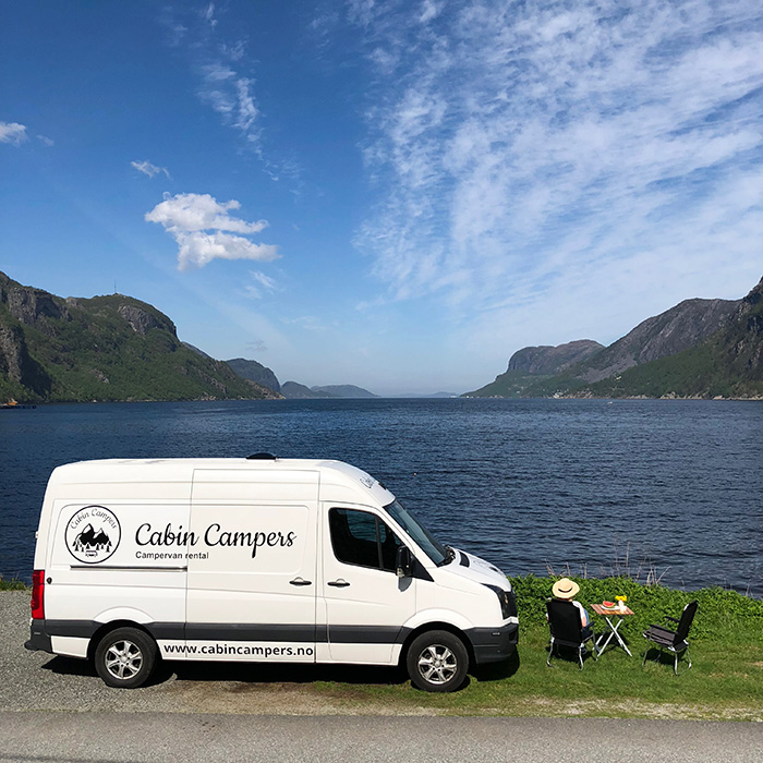 Cabin Campers | Unique Campervan Rental Norway | RV Rental Oslo